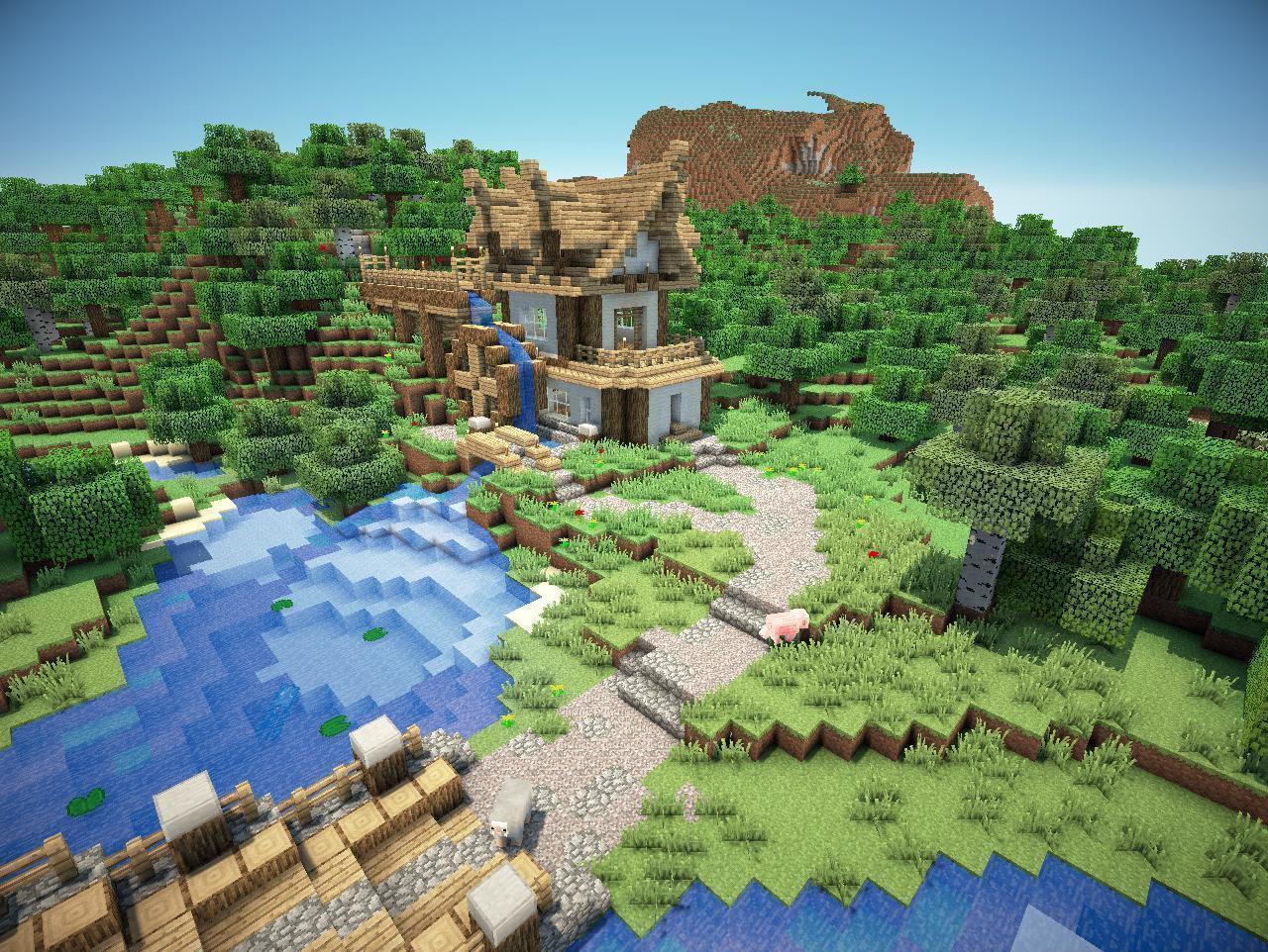 R3D CRAFT [128x] текстуры для Minecraft 1.6.2: minecrafted.su/texture-packs/16/656-r3d-craft-x128-tekstury-dlya...